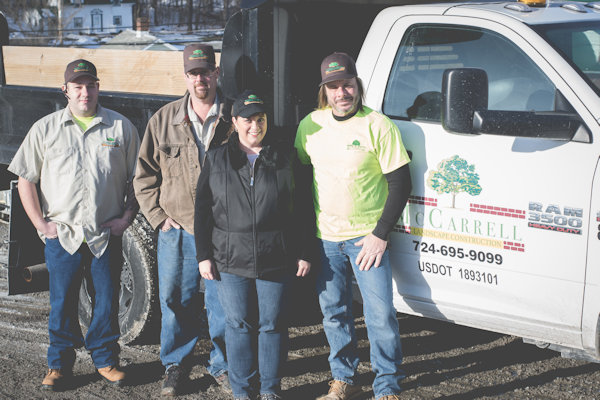 McCarrell Landscape Construction Team